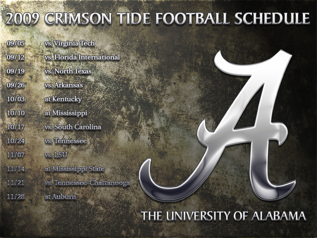 Alabama Screensavers