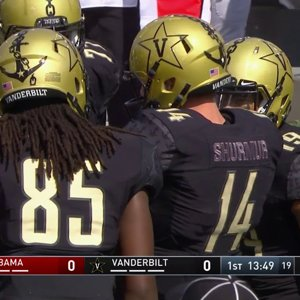 2017 #1 Alabama vs. Vanderbilt (HD)