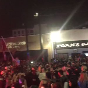 Fans celebrate Bama's fifth title in nine years
