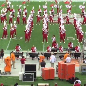 "UA Million Dollar Band performing ""Uptown Funk"""
