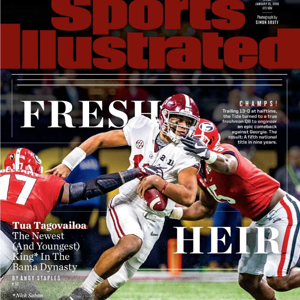 Sports Illustrated National Title edition