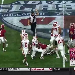 2015 #20 Wisconsin vs. #3 Alabama (HD)