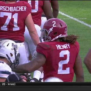 2015 Charleston Southern vs. #2 Alabama (HD)