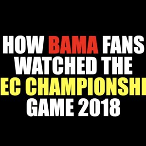 How Bama Fans Watched The SEC Championship 2018