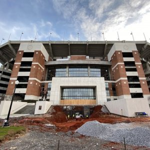 Bryant-Denny Stadium renovation progress